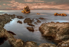 Daybreak at the Tide Pools (Don's Photostream) Tags: water longexposure rocks tidepools ocean coast sunshine clouds
