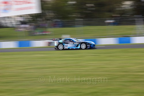 Tom Roche in Ginetta GT4 Supercup during the BTCC Weekend at Donington Park 2017