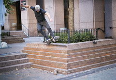 _DSF0152 Skateboarding HiRes (CoriJae) Tags: hdr waterstreet downtownmanhattan newyork skateboarding