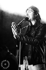 Bollicine - Tribute to Vasco Rossi (Cesarotto Cristian) Tags: nikon d2hs blackwhite bnw biancoenero blackandwhite concert contrast gig livemusic live music voice bollicine tributeband vascorossitribute concertphoto portrait