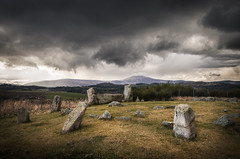 Tomnaverie Stone Circle (Neillwphoto) Tags: tomnaverie stone circle tarland aberdeenshire dark cloudy ancient monument
