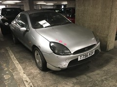 Ford Puma 1.7 16v - 4 years on (VAGDave) Tags: ford puma 17 16v abandoned 1999