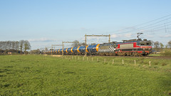 CT 1619 + HSL 1832(opzending) + o.a. fraaie Wascosa ketelwagens. (twenterail) Tags: raillogix ct captrain hsl 1619 1832 spoorwegen eisenbahn zug trein train railroad
