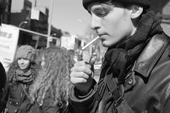 vas3 (cananaleon) Tags: menino loiro pessoas retrato film analog nyc gente minolta fujifilm 50mm bnw