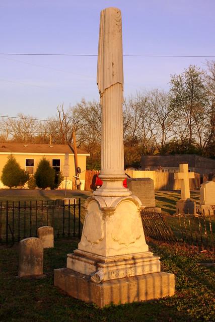 Burial Site of Gov. William Trousdale (2017)