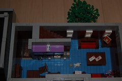 Apartment back (sander_koenen92) Tags: lego modular house doctor dalek weeping angel jewelry food store