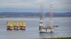 439 Ölplattform im Wet-Dock des Cromarty Firth