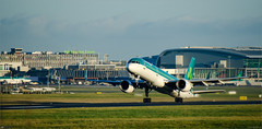 'Rotate' (bbusschots) Tags: 757 abr aslairlinesireland aerlingus boeing contract dub dublin dublinairport ei eidw ein ireland shamrock airportterminal aviation building commercialairliner controltower jet countydublin ie