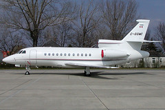 Magna International Inc Dassault Falcon 900EX C-GGMI (c/n 087) (Manfred Saitz) Tags: international falcon 900 vie magna dassault loww viennaairport f900 cggmi