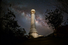 The Lighthouse's Tale (Jap Salem) Tags: lighthouse long exposure magic cape lantern pangasinan milkyway bolinao