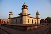 Agra, The Itmad-ud-Daulah Mausoleum at sunset (Heaven`s Gate (John)) Tags: travel sunset india art architecture dusk agra mausoleum mauseleum littletaj babytaj itmaduddaulah 10faves johndalkin heavensgatejohn itmaduddaula