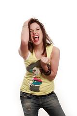 Frau schreit (bemedia123) Tags: jung emotion bse teenager aggression frau wut weiss mdchen zorn stimmung junge haare hintergrund mensch weiser sauer schmerz weis weisser schn schreien gefhl unzufrieden rger ausdruck wtend pubertt aggressiv hbsch jugendliche mimik frust freigestellt verrgert studioaufnahme freisteller ausrasten isoliert zornig raufen frustriert