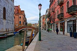 Venice : Fondamenta della Misericordia / Rio della Misericordia / Ponte San Marziale