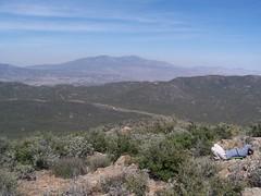 View NE to Santa Rosa Mtn. & Toro Pk.