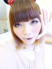 Pink Makeup (treasurebelle) Tags: japanese kawaii indonesian gyaru