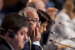 Lüfti Elvan during the Closed Ministerial Session