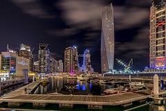 Dubai Marina (Vinaya Mohan) Tags: marina nikon dubai mohan d4 vinayan vinayamohan