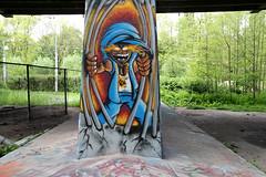 graffiti (wojofoto) Tags: amsterdam graffiti wojofoto hof amsterdamsebrug flevopark sen nederland netherland holland wolfgangjosten