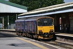 FGW 150106 @ Westbury (AJHigham) Tags: station great first class 150 western westbury sprinter dmu 1501 fgw 150106