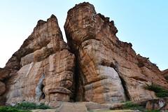 India - Karnataka - Badami Caves - 23 (asienman) Tags: india architecture caves karnataka badami chalukyas vatapi asienmanphotography