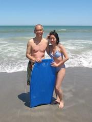 IMG_0087 (Sue L C) Tags: florida boogieboard cocoabeach bodysurfing