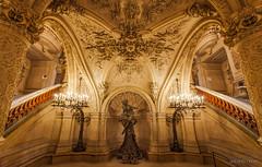 palais garnier ' paris (acseven) Tags: urban paris france architecture opera europa europe ledefrance frana indoor palace palais urbano garnier 2014