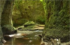 Finnich Glen  Devil's Pulpit (Ben.Allison36) Tags: scotland natural devils glen gorge geology pulpit stirlingshire theeagle outlander finnich