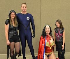 Kyra with Wonder Woman and the Fantastic Four (JohnnieEberle) Tags: nashville cosplay wonderwoman kyra oprylandhotel fantasticfour nashvillecomicexpo kyrawasasurprisehitasladyhawkeye thesecosplayerswereaskingtoposewithkyraashawkeye