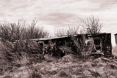 Abandoned Building in the Country (MelodyJoy173) Tags: old house building abandoned farm country sk saskatchewan prairies desolate deserted