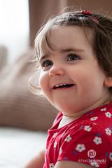 Bethany 02 (Rich Jankowski) Tags: portrait baby sunlight flower girl beautiful canon eyes toddler gorgeous bethany ff ef100mmmacrof28usm canon5dmkii 5d2