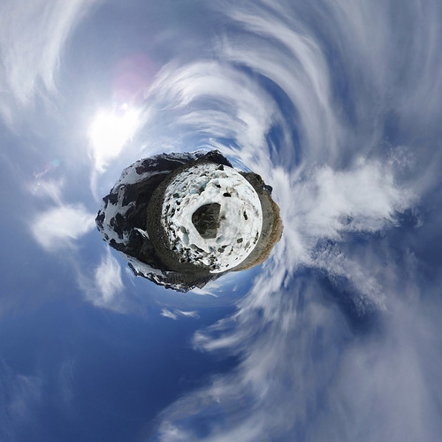 Tasman Glacier - Little planet