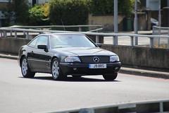 1998 Mercedes SL 320 (kenjonbro) Tags: uk england london mercedes blackheath mercedesbenz 1998 a2 a102 2door se3 blackwalltunnel sl320 worldcars kenjonbro delacourtroad suninthesandsroundabout j9rrs