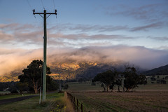 Low cloud (RWYoung Images) Tags: light sky cloud mountain color canon landscape farm hill geelong rwyoung 5d3