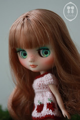 My Custom Commission Middie Blythe Doll.