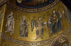 Monreale (nicnac1000) Tags: italy gold italia cathedral mosaic mosaics medieval norman christian arab sicily duomo byzantine sicilia monreale siciliy tesserae 12thcentury williamii kingwilliamii 1180s arabnorman mediavale 1170s normanarab normanbyzantine arabbyzantine normanscilian