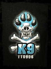K9 - Explosive (Left Chest)