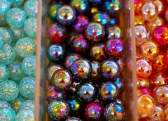 glass cone marbles (downhamdave) Tags: uk england game west color colour macro glass up kids canon children t