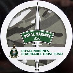 Emblem (chrisinplymouth) Tags: squircle circle round squaredcircle cw69x circular emblem sticker sign royalmarines 350 trustfund