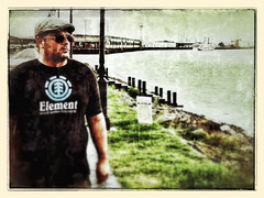On the Riverfront (Billy Woolfolk) Tags: new french orleans louisiana ipod touch quarter riverwalk iphone iphoneography
