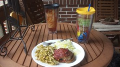 Lunch on the porch (perfect_man4noone) Tags: vegetables lunch porchdining