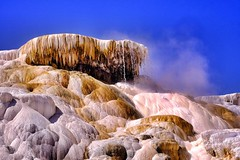 Mammoth Springs - Yellowstone (Daryl Marquardt) Tags: fuji yellowstone 55200 xt1