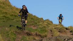 Jim pinning (Kit Carruthers) Tags: stirling mountainbike 2014 dumyat