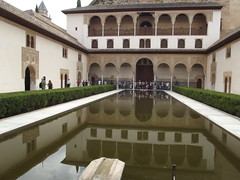 Nasrid Palaces - The Alhambra - Granada - Comares Palace - Court of the Myrtles (ell brown) Tags: spain unescoworldheritagesite unesco worldheritagesite espana alhambra moorish granada andalusia alcazaba generalife laalhambra casareal sierranevadamountains nasridpalaces vegadegranada patiodelosarrayanes thealhambra courtofthemyrtles patiodelaalberca palaceofcharlesv comarespalace southofspain kingdomofgranada moorishpalace palaciorabe alhambrageneralifeandalbayzngranada nasritepalaces laalhambraygeneralife thecomarespalaceorhall cuartoopalaciodecomares courtoftheblessingorcourtofthepond
