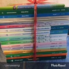 "by @psnawseng ""Who want to get it. Will give you free. Its my 2 semester textbook from STOU. ใครอยากได้ให้ฟรีครับ อยู่เชียงใหม่ ใกล้ โรงพยาบาลเทพปัญญา ติดต่อทาเลย นี้คือชุดวิชาที่ผมสอบผ่านมาแล้วครับ #kachin #klschiangmai #stoustudent #kachinlifestories #ค"