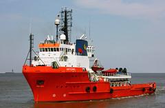 ARTEMIS inbound Cuxhaven (cuxclipper ) Tags: ship vessel artemis schiff elbe cuxhaven versorger offshorestandby