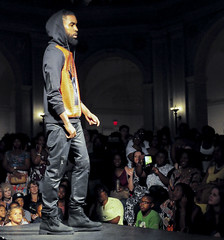 Alhassan Toure runway show (j-No) Tags: show street people black men look leather fashion museum brooklyn fun design fly outfit clothing do modeling designer crowd models culture style guys scene line event fabric trendy gathering mens africanamerican to hiphop wardrobe hip macho ensemble runway couture fit cultural fabrics toure jno alhassan nytcap jamesnova httpwwwflickrcomphotosjno httpblogspotnytcap