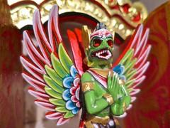 (fabola) Tags: life friends bali art statue garden mask god spirit marin zen marincounty garuda ubud millvalley makers pataphysics pataphysical pataphysicalstudios