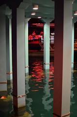 Restaurant Limassol Marina (Cool Pooch) Tags: reflection night cyprus nightlife cy limassol newlimassolmarina