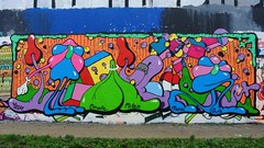 Ivry  Urban art street art by Yosh (descartes.marco) Tags: colores yosh colorandcolors streetartfrance ivryurbanartstreetartgraff