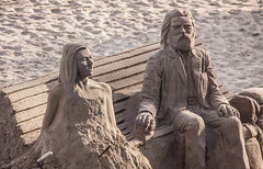 Sand Sculpture of a Couple - Marbella, Spain (ChrisGoldNY) Tags: travel art portraits canon poster spain europa europe mediterranean european forsale couples statues andalucia espana spanish viajes posters beaches albumcover bookcover sculptures bookcovers marbella albumcovers sandsculptures licensing chrisgoldny chrisgoldberg chrisgold chrisgoldphoto chrisgoldphotos